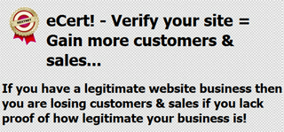 Verify your site with eCert by nextnet.gr